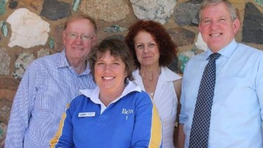 Noeline Ikin, (second from left), pictured with Women's LNP president Theresa Craig, Senator Ian MacDonald and former Abbott government minister Ian Macfarlane.