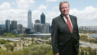 Colin Barnett has charged himself with selling WA after his Cabinet reshuffle.