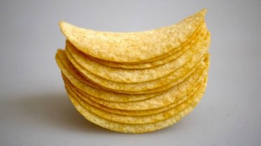 Kellogg's earned a Shonky Award for shrinking its Pringles but lifting the price.