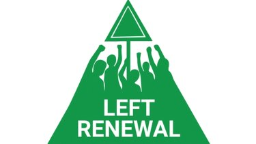 Left Renewal's logo.