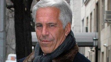 Wall Street financier Jeffrey Epstein, a former friend of the prince.