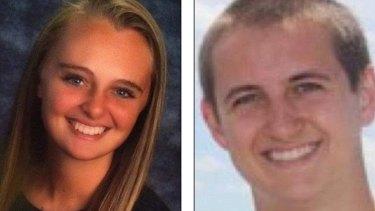 Michelle Carter and her now deceased boyfriend Conrad Roy.