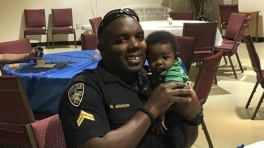 Montrell Jackson, one of the police officers killed in Baton Rouge.
