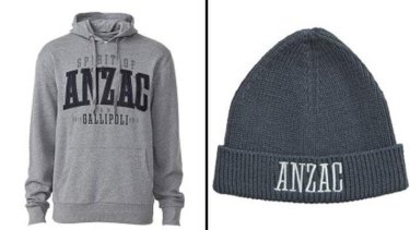 Camp Gallipoli merchandise withdrawn from sale at Target.