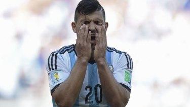 Injury cloud: Argentina's forward Sergio Aguero.