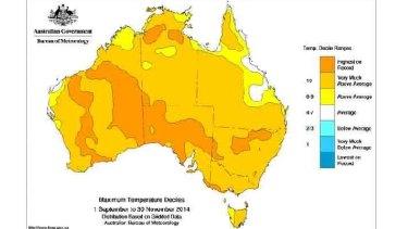 Australia's record hot spring.