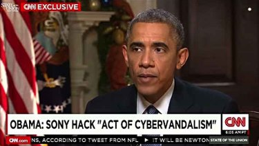 High level concern: US President Barack Obama condemned the attack in a CNN interview.