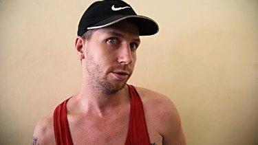 Australian man Shaun Davidson is still on the run.