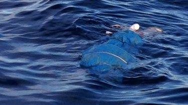 A body found off the Sydney coast near Cronulla.