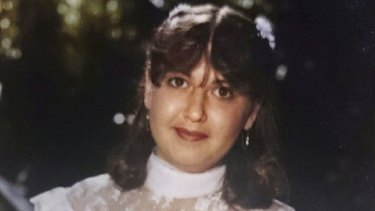 Linda Locke on her wedding day. The 51-year-old was a victim of domestic violence from Quakers Hill.