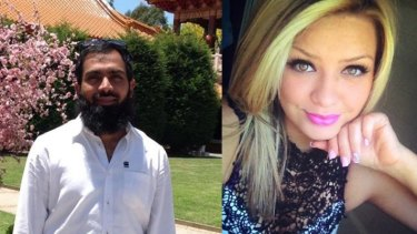 Hafeez Ahmed Bhatti, left, and Stacey Eden, right.