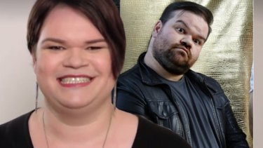 Hirsute no longer suits her ... Axis of Awesome's Jordan Raskopoulos is transitioning to a woman.