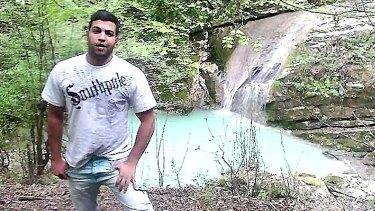 Manus Island detainee Hamid Khazaei, who died in 2014.