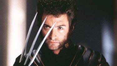 Hugh Jackman as Wolverine in 2000's X-Men.