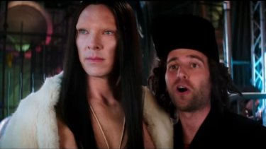 Benedict Cumberbatch plays an androgynous, Andreja Pejic-esque supermodel in <i>Zoolander 2</i>.