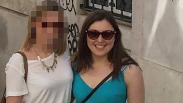 Kirsty Boden (right) The South Australian woman feared to be dead after the London attacks.