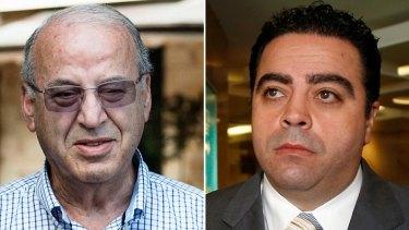 Ex-Labor ministers Eddie Obeid and Joe Tripodi.