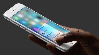 Apple's latest smartphone, the iPhone 6s.