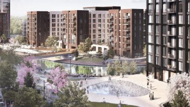 Westfield is teaming up with Greystar which owns the British Greenford build-to-rent development.
