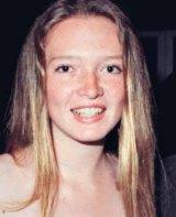 Hope Rinehart (now Welker) at a ball in 2000.