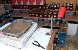 In Greece, Operation Opson V discovered three illegal spirit factories.
