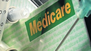 Queensland Labor says the message was not intended to indicate that it was from Medicare.