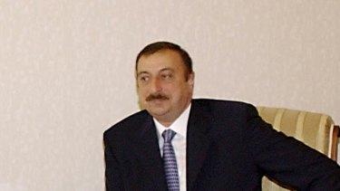 Azerbaijani President Ilham Aliev in 2004.