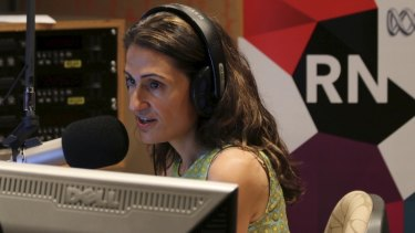 ABC Radio National host Patricia Karvelas said she does not support a no confidence motion in ABC management passed by staff.