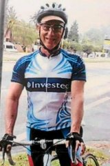 Steve Jarvie died from head injuries after coming off his bike in 2013.