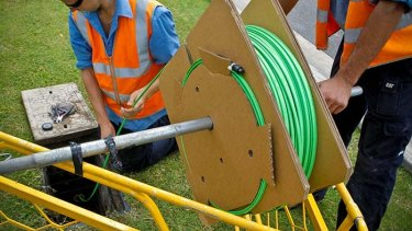 NBN is being rolled out in regional and outer metropolitan areas first, and will start construction in capital cities this year.