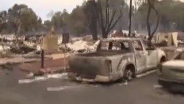 Three people remain unaccounted for in WA's fire zone.
