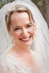 Caitlin Fitzsimmons estimates her wedding cost under $15,000.