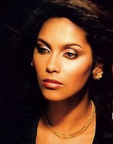 Prince's former girlfriend and protege Denise Katrina Matthews, known as Vanity, in an image from her book.