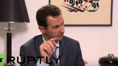 Syrian President Bashar al-Assad delivers his assessment on the refugee crisis to Russian news channel RT.
