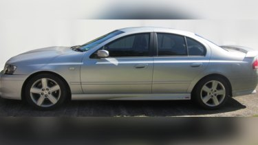 Detectives would like to speak to the driver of a grey, early 2000 model Ford Falcon.