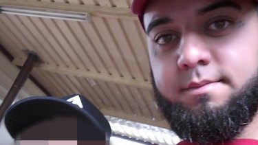 Mohammed Khazma, charged with bashing a baby in Guildford.