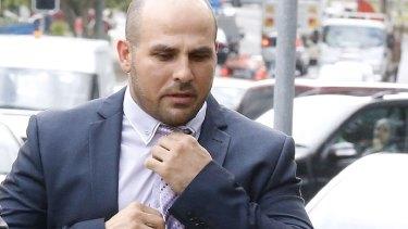 Not guilty plea: Hazem El Masri arrives at Bankstown Local Court on Thursday.