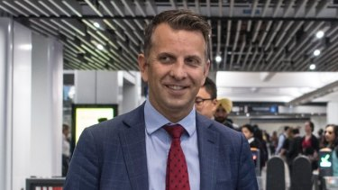 Transport Minister Andrew Constance was hopeful construction on the second stage would start before 2020.