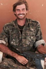 Australian Reece Harding was killed in Syria.