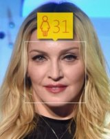 Software update: How-old.net took 25 years off Madonna's age.