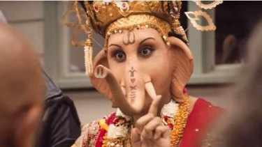 Meat & Livestock Australia has stirred controversy with its depiction of Hindu deity Lord Ganesha, a vegetarian, in its latest ad for lamb.