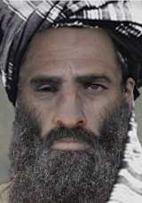 """This """"age-progressed"""" image created by the FBI offers a computerised impression of what Mullah Mohammad Omar might look like if he is alive today."""