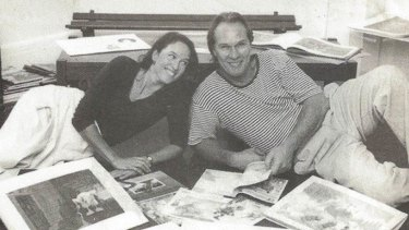 Anna Fienberg and Kim Gamble travelled the world introduced children to Tashi.