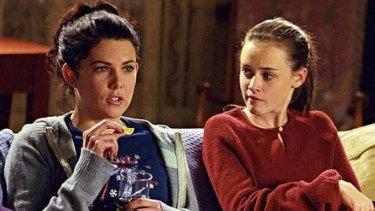 Mum, daughter, besties: Lorelai and Rory in Gilmore Girls.