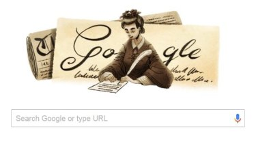 Melbourne suffragist Henrietta Augusta Dugdale appears as today's Google doodle.