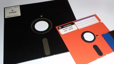 Floppy disks of bygone eras - but they're not gone from the US's nuclear arsenal.