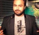 Indian singer Mihir Joshi.