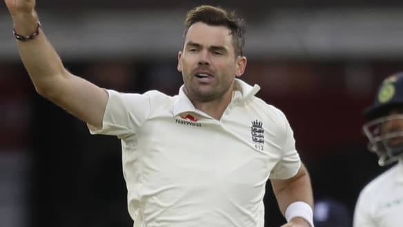 England bowls India out for 107 in Test