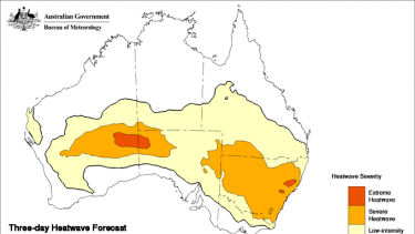 Severe temperatures are set to sweep across most of NSW.