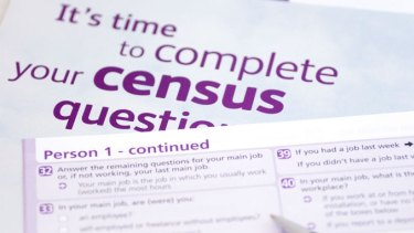 The census website crashed as an estimated 16 million people tried to log on on Tuesday.